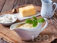 Рецепта Сос Бешамел с гъби за пържоли